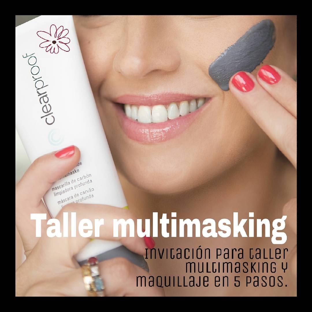 Taller MULTIMASKING An no has probado la experiencia multimasking yhellip