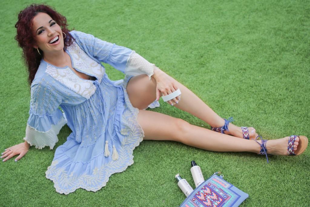Marisa Flores, productos anticelulíticos